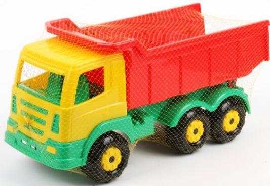 Самосвал Полесье ПРЕСТИЖ разноцветный 44211 игрушка полесье констрак автомобиль самосвал 9654