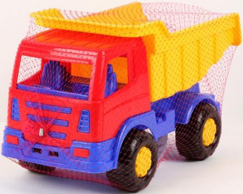 Самосвал Полесье МИРАЖ желтый 9042 игрушка полесье констрак автомобиль самосвал 9654