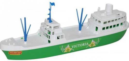Корабль Полесье КОРАБЛЬ ВИКТОРИЯ зеленый 8 шт 56399 игрушка полесье корабль чайка 36964