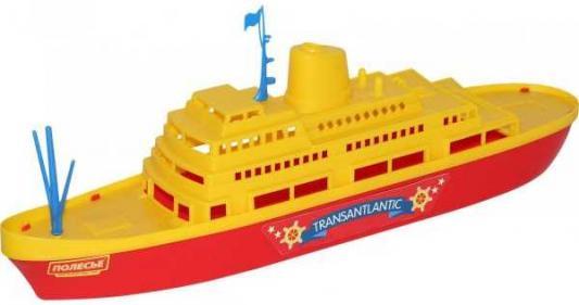 Корабль Полесье КОРАБЛЬ ТРАНСАТЛАНТИК желтый 6 шт 56382 игрушка полесье корабль чайка 36964