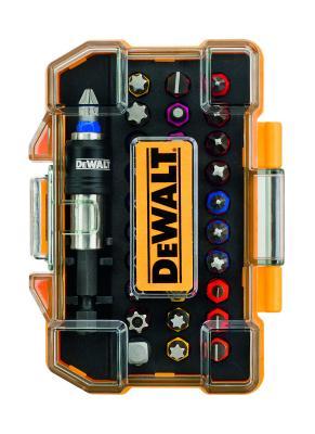 Набор бит DeWALT DT7969-QZ (32шт.) в пластиковом боксе с прозрачной крышкой набор бит sparta с адаптерами для бит в пластиковом боксе 100 предметов