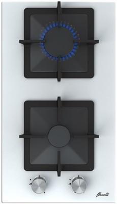 Варочная панель газовая Fornelli PGT 30 CALORE WH белый цена и фото