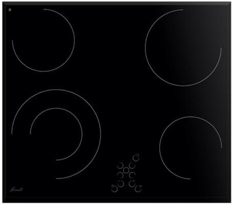 Картинка для Варочная панель электрическая Fornelli PV 6017 DOLCE черный