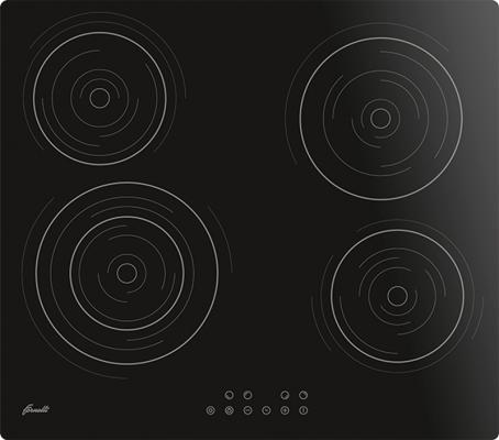 лучшая цена Варочная панель электрическая Fornelli PVA 60 CREAZIONE черный