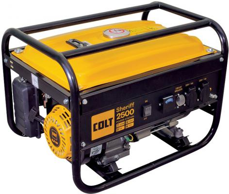 Бензиновый генератор COLT Sheriff 2500 2.2кВа 220В бак 15л 35кг сигнализация sheriff aps zx 2500