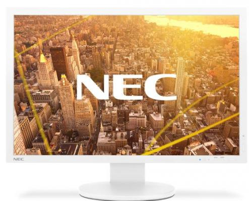 "Монитор 24"" NEC PA243W LCD S/Wh белый AH-IPS 1920x1200 350 cd/m^2 8 ms DVI HDMI DisplayPort VGA USB"