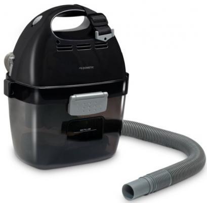 Aккумуляторный пылесос Dometic PV-100 сухая сбор жидкостей уборка чёрный серый