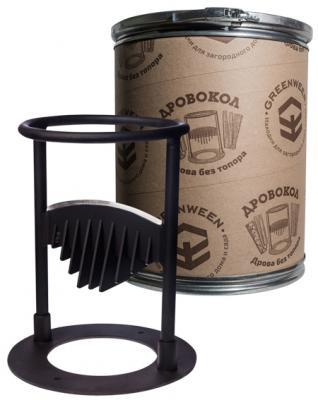 Дровокол GREENWEEN GW-DR1-T ручной, раскол на 2 части, диаметр/высота: 350/280 мм, раскол на 2 ч. дровокол greenween gw dr4 t grafit