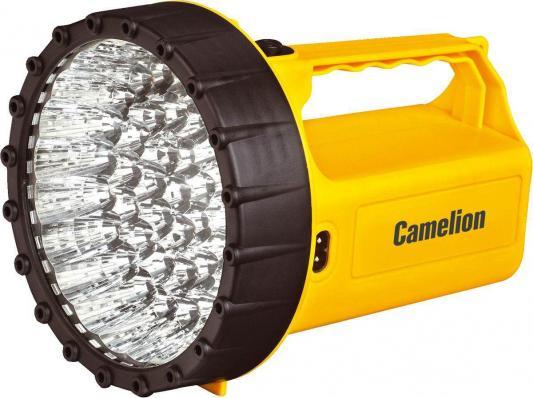 Фонарь CAMELION LED29316 аккум. 220В желтый 43 LED 6В 4А-ч пластик коробка