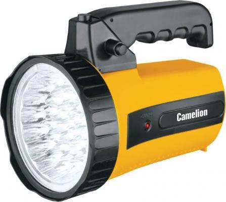 Фонарь ручной Camelion LED29315 оранжевый чёрный цена