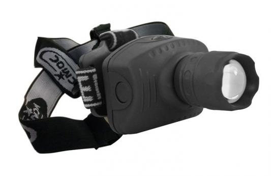 Фонарь налобный КОСМОС H3W-LED чёрный цена