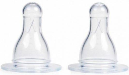 Соска ортодонтическая Canpol Соска 2 шт от 6 месяцев силикон белый 18/115 соска canpol круглая соска для каши 2 шт силикон классическая от 6 месяцев прозрачный