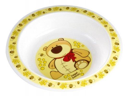 Купить Тарелка Bebe Confort ТАРЕЛКА ПЛАСТИКОВАЯ 1 шт желтый от 1 года 4/411, Детская посуда для кормления