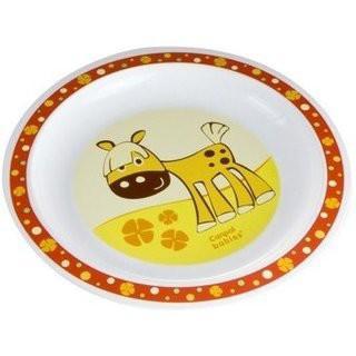 Купить Тарелка Canpol ТАРЕЛКА ПЛАСТИКОВАЯ 1 шт красный от 1 года 4/411, Детская посуда для кормления