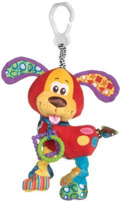 Купить Мягкая игрушка-подвеска Playgro (Плейгро) Щенок , разноцветный, текстиль, унисекс, Игрушки-подвески
