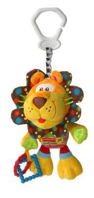 Купить Интерактивная игрушка PLAYGRO Львенок с рождения, разноцветный, текстиль, унисекс, Игрушки-подвески