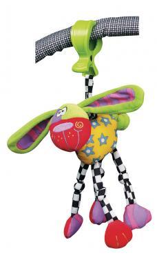 Купить Интерактивная игрушка PLAYGRO Собака от 3 месяцев, разноцветный, текстиль, унисекс, Игрушки-подвески