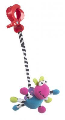 Купить Интерактивная игрушка PLAYGRO Божья коровка от 3 месяцев, разноцветный, текстиль, унисекс, Игрушки-подвески