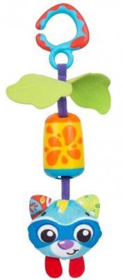 Купить Интерактивная игрушка PLAYGRO Енот с рождения, разноцветный, текстиль, унисекс, Игрушки-подвески