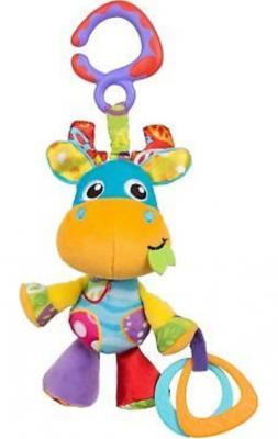 Купить Интерактивная игрушка PLAYGRO Лось с рождения, разноцветный, текстиль, унисекс, Игрушки-подвески
