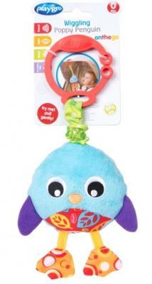 Купить Интерактивная игрушка PLAYGRO Пингвин с рождения, разноцветный, текстиль, унисекс, Игрушки-подвески