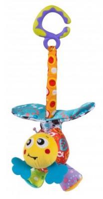 Купить Интерактивная игрушка PLAYGRO Пчелка с рождения, разноцветный, текстиль, унисекс, Игрушки-подвески