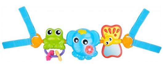 Купить Интерактивная игрушка PLAYGRO Игрушка-подвеска с рождения, разноцветный, текстиль, унисекс, Игрушки-подвески
