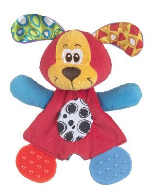 Купить Мягкая игрушка щенок PLAYGRO Щенок ткань, разноцветный, Животные