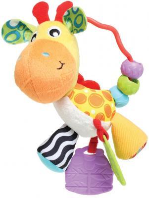 Купить Погремушка Playgro Жираф 0186161, розовый, унисекс, Погремушки и прорезыватели