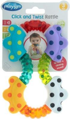 Купить Игрушка-погремушка Playgro (Плейгро), разноцветный, унисекс, Погремушки и прорезыватели