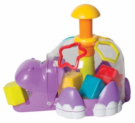 Купить Сортер Playgro Бегемотик 6385458, Сортеры и шнуровки
