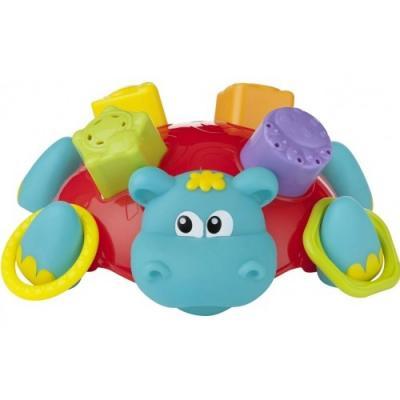 Купить Сортёр для ванной Playgro Бегемотик 0186575, Сортеры и шнуровки