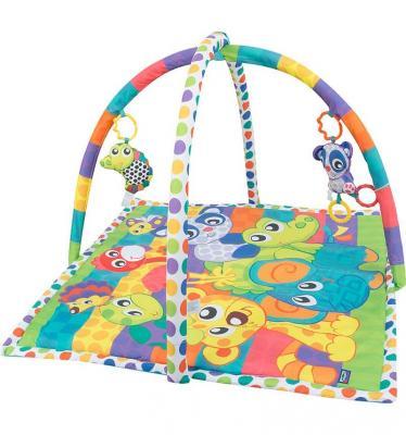 Развивающий коврик Playgro активный центр В мире животных 0185477 развивающий центр playgo для самых маленьких