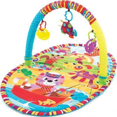 Развивающий коврик Playgro активный центр Прогулка 0184213 playgro игрушка активный центр в мире животных playgro