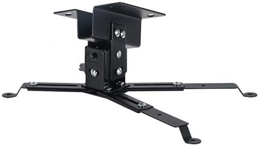 81-TRENTO black Кронштейн для проекторов VLK кронштейн для проекторов vlk trento 81 черный потолочный наклонно поворотный до 15 кг