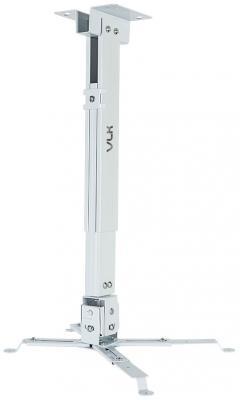 Кронштейн для проекторов VLK TRENTO-82w Белый, настенный/потолочный, max 15 кг, 3 ст своб/, наклон ±15°, от потолка 460-650 мм кронштейн для проекторов vlk trento 81 черный потолочный наклонно поворотный до 15 кг