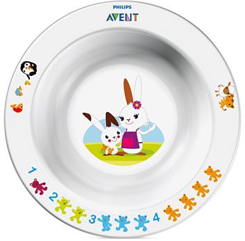 Глубокая тарелка Avent 230 мл, 6+, арт. 65630 тарелка philips avent глубокая малая с 6 мес 230 мл в ассортименте