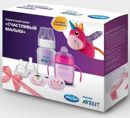 Набор для кормления Avent Счастливый малыш 6 шт от 3 месяцев SCF1701