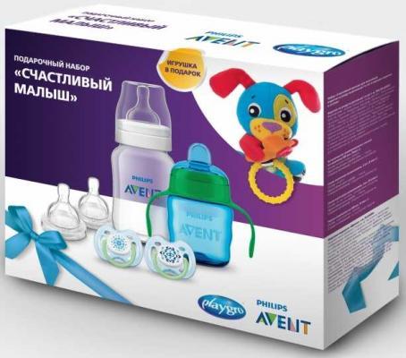 Набор для кормления Avent Счастливый малыш 6 шт от 3 месяцев SCF1702