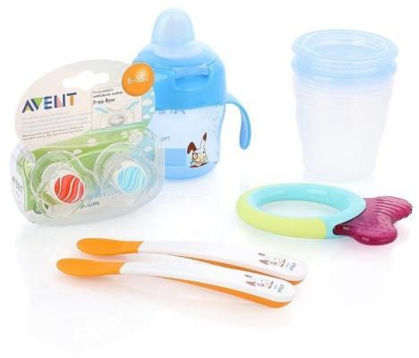 """Набор для кормления Avent № 67 """"Подарочный набор для малыша 6+"""" 10 шт от 6 месяцев"""