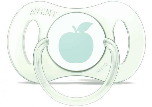 Пустышка Avent Mini с рождения силикон светло-зеленый SCF151/00