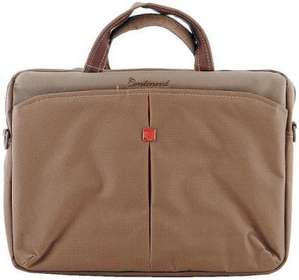 Сумка для ноутбука 13 Continent CC013 синтетика коричневый сумка для фотоаппарата continent ff 05 коричневый