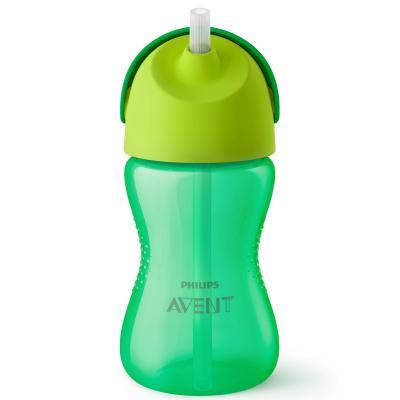 Контейнер Avent Чашка-поильник с трубочкой 1 шт зеленый от 9 месяцев SCF798/01 контейнер avent чашка поильник 1 шт от 9 месяцев фиолетовый scf796 02