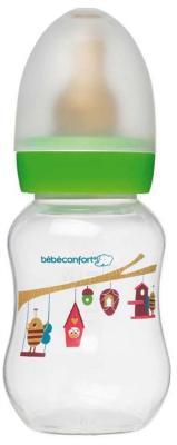 Бутылочка Bebe Confort Classic серия Bee Fantasy PP, лат. соска для молока и воды,120 мл, 0-6 мес., бутылочка bebe confort classic полипропилен с 0 мес 120 мл микс