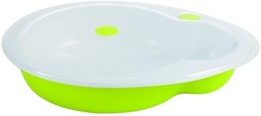 Купить Тарелка Bebe Confort Герметичная тарелка 1 шт зеленый от 9 месяцев 31000287, Детская посуда для кормления