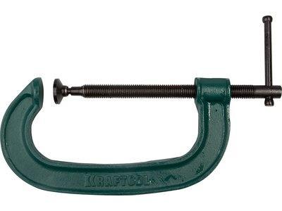 Струбцина KRAFTOOL 32229-150 EXPERT высокопрочный чугун с шаровидным графитом, 6/150 мм струбцина kraftool expert 32229 100