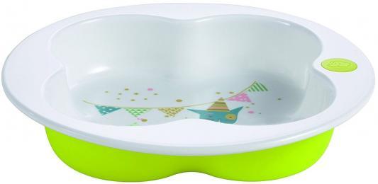 Купить Тарелка Bebe Confort клевер 1 шт зеленый от 1 года 31000303, Детская посуда для кормления