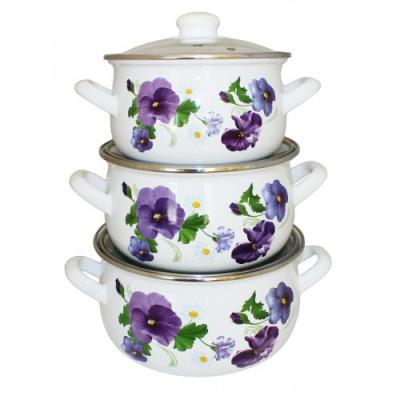 Набор посуды Interos 2999 Виола rostok visa набор для выращивания виола
