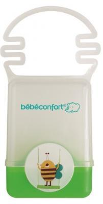 Купить Пластиковый контейнер Bebe Confort с ручкой для хранения пустышки цвет зеленый, Контейнеры, пакеты для хранения