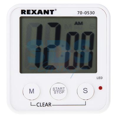 Цифровые часы с таймером обратного отсчета REXANT RX -100 а 70-0530 спортивные цифровые часы skmei 0989